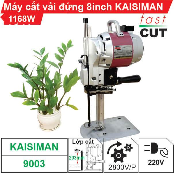 Máy cắt vải đứng 8 inch Kaisiman 1168W KSM-9003