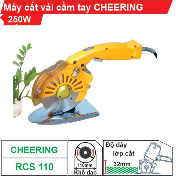 Máy cắt vải cầm tay Cheering RCS-110 (Tiết kiệm điện)