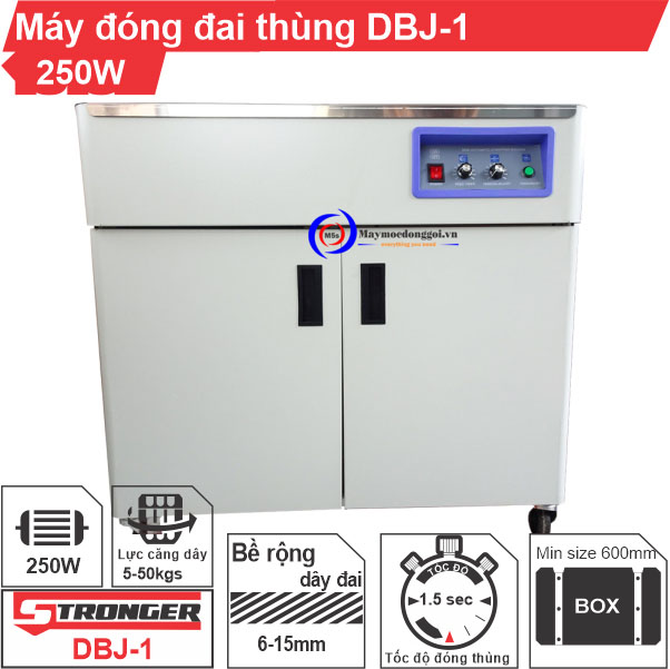 Máy đóng đai thùng bán tự động DBJ-1