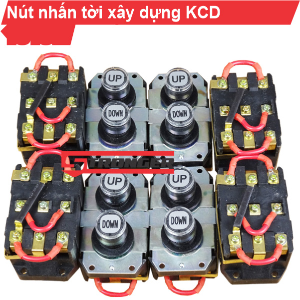 Nút nhấn tời xây dựng KCD (loại mới)