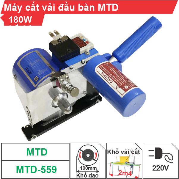 Máy cắt vải đầu bàn MTD-559