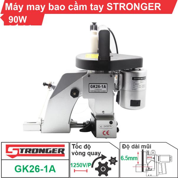 Máy may bao cầm tay Stronger GK26-1A