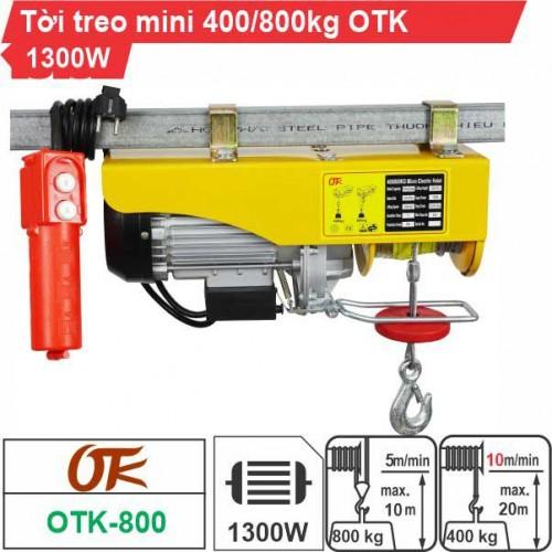 Máy tời điện mini 400-800kg OTK