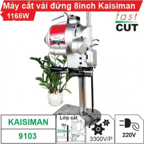Máy cắt vải đứng 8 inch Kaisiman 1168W KSM-9103