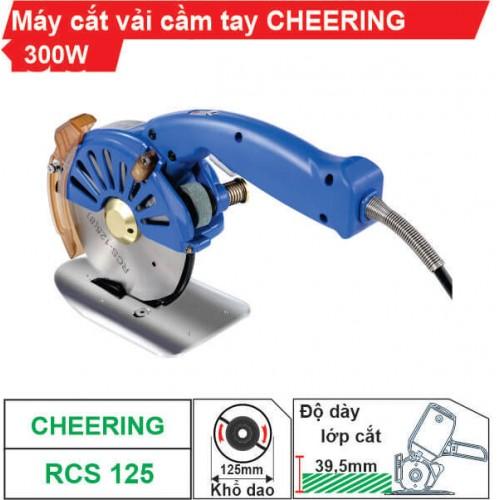 Máy cắt vải cầm tay Cheering RCS-125 (Tiết kiệm điện)
