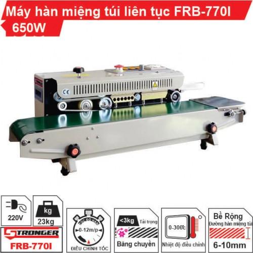 Máy hàn miệng túi liên tục FRB-770I Stronger vỏ sơn tĩnh điện