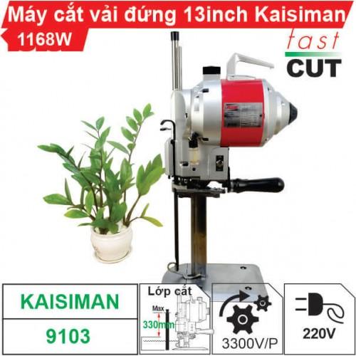 Máy cắt vải đứng 13 inch Kaisiman 1168W KSM-9103