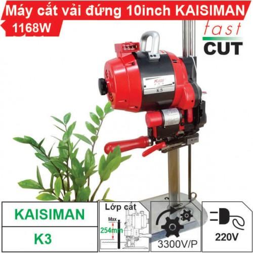 Máy cắt vải đứng 10 inch Kaisiman K3
