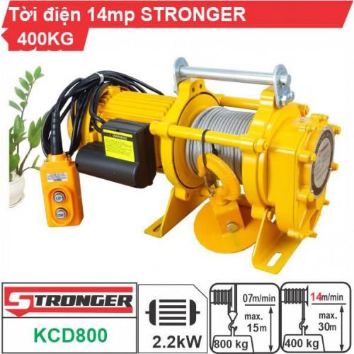 Máy tời kéo mặt đất 400-800kg Stronger KCD800
