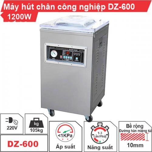 Máy hút chân không công nghiệp DZ-600