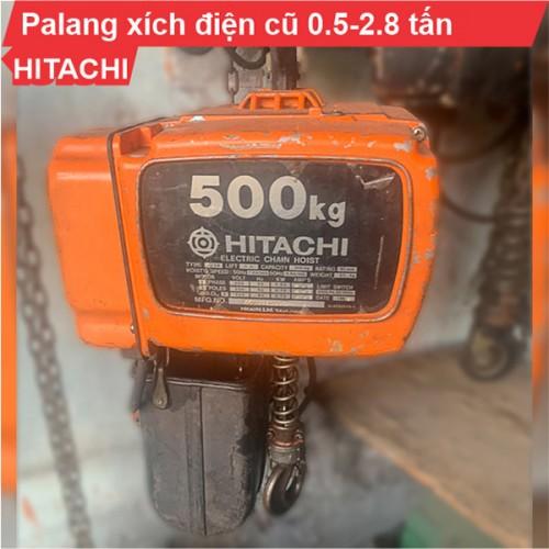 Palang xích điện Hitachi 500kg-2,8 tấn cũ (cố định)