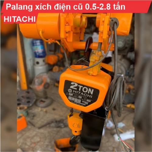 Palang xích điện Hitachi 500kg-2,8 tấn cũ (dịch chuyển)