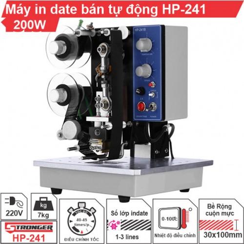 Máy in date bán tự động HP 241