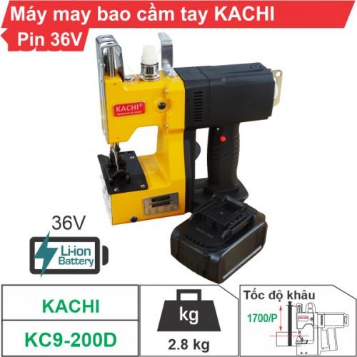 Máy may bao cầm tay Kachi KC9-200D (dùng pin)