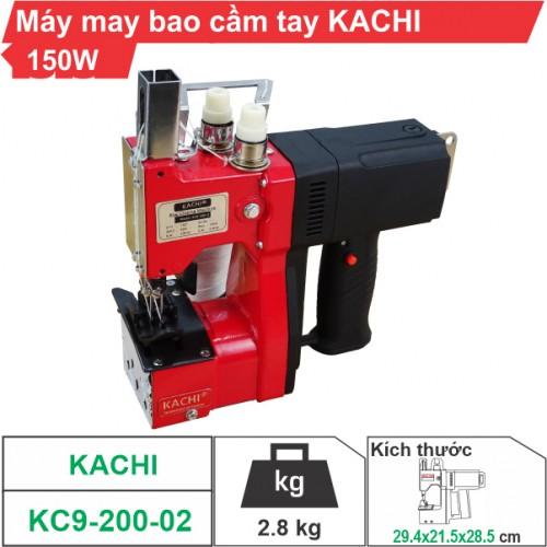 Máy may bao cầm tay Kachi KC9-200-02 (2 kim 2 chỉ)