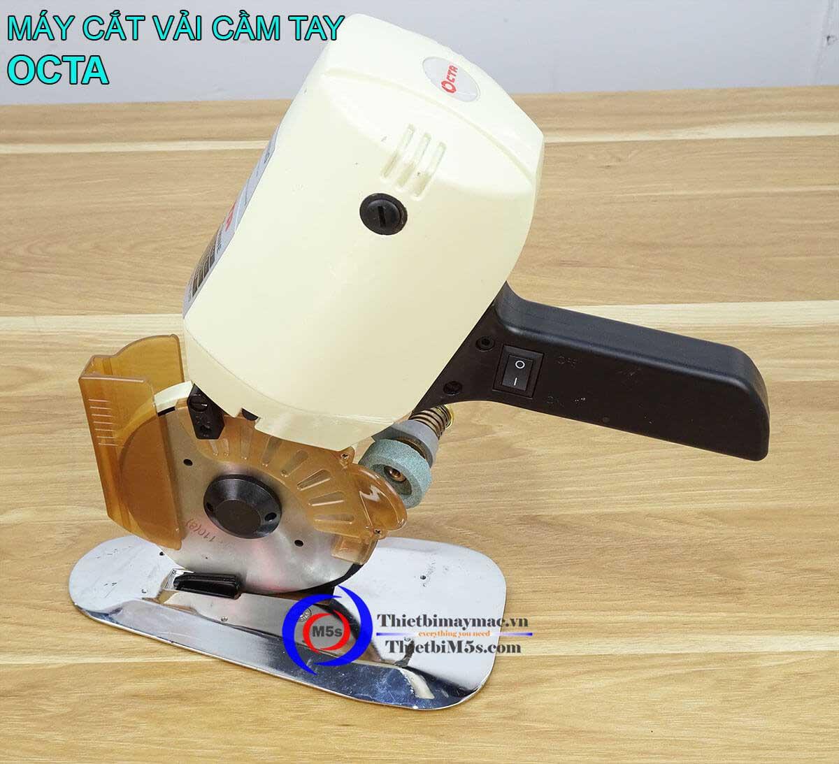 Máy cắt vải cầm tay mini Octa