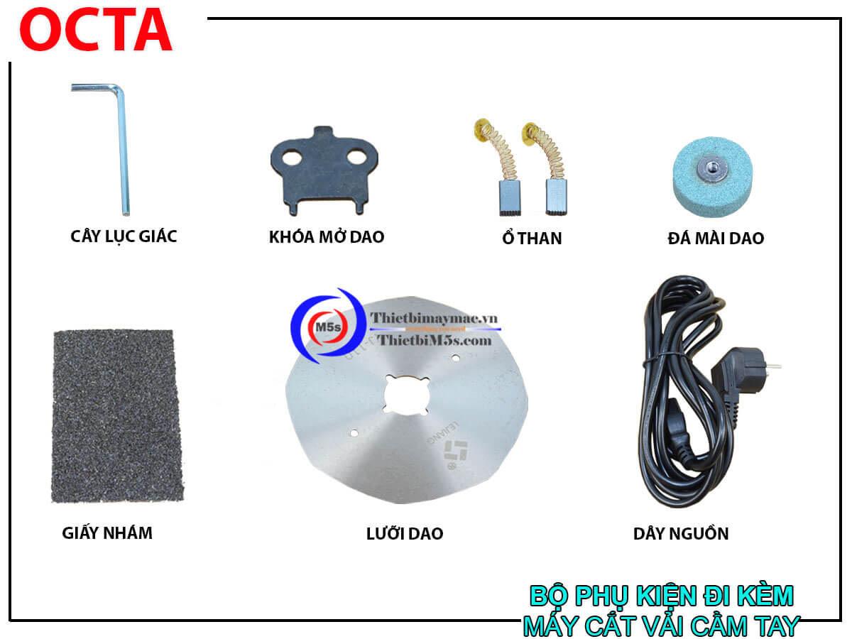Phụ kiện máy cắt vải cầm tay mini Octa