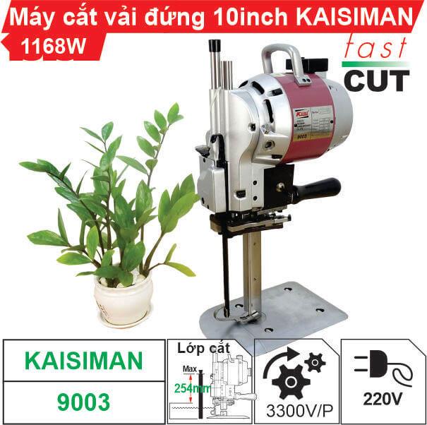 Máy cắt vải đứng 10inch Kaisiman 1168W KSM-9003