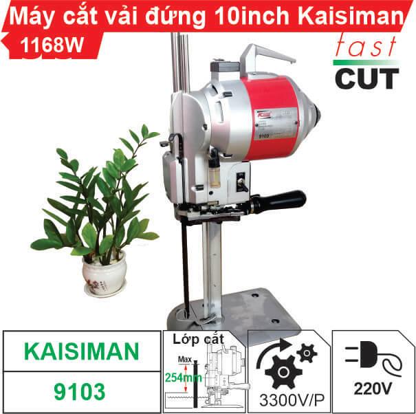 Máy cắt vải đứng 10 inch Kaisiman KSM-9103
