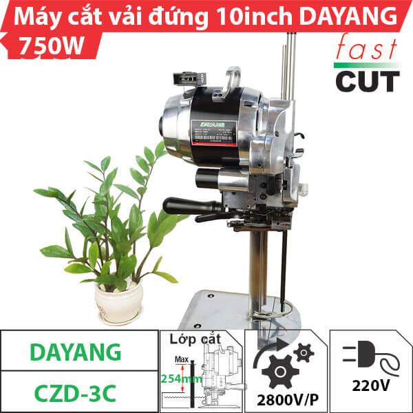 Máy cắt vải đứng 10 inch Dayang 750W