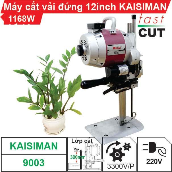 Máy cắt vải đứng 12 inch Kaisiman 1168W KSM-9003