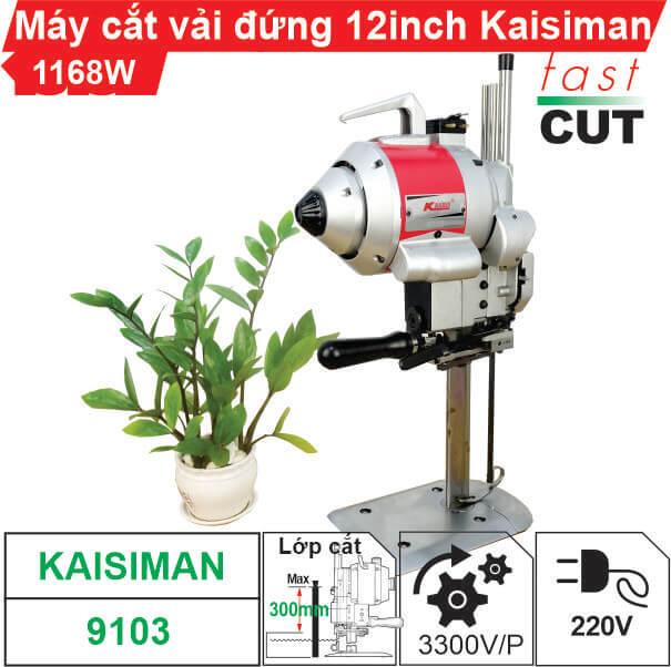Máy cắt vải đứng 12 inch Kaisiman 1168W KSM-9103