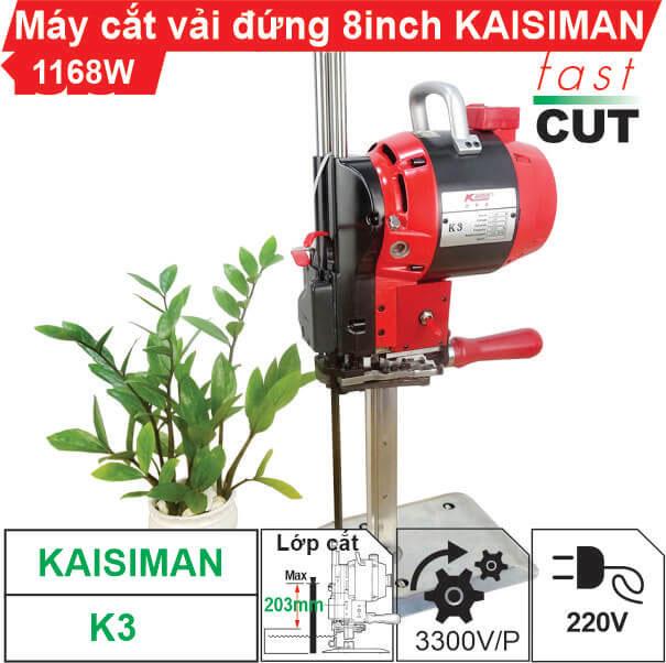 Máy cắt vải đứng 8 inch Kaisiman K3