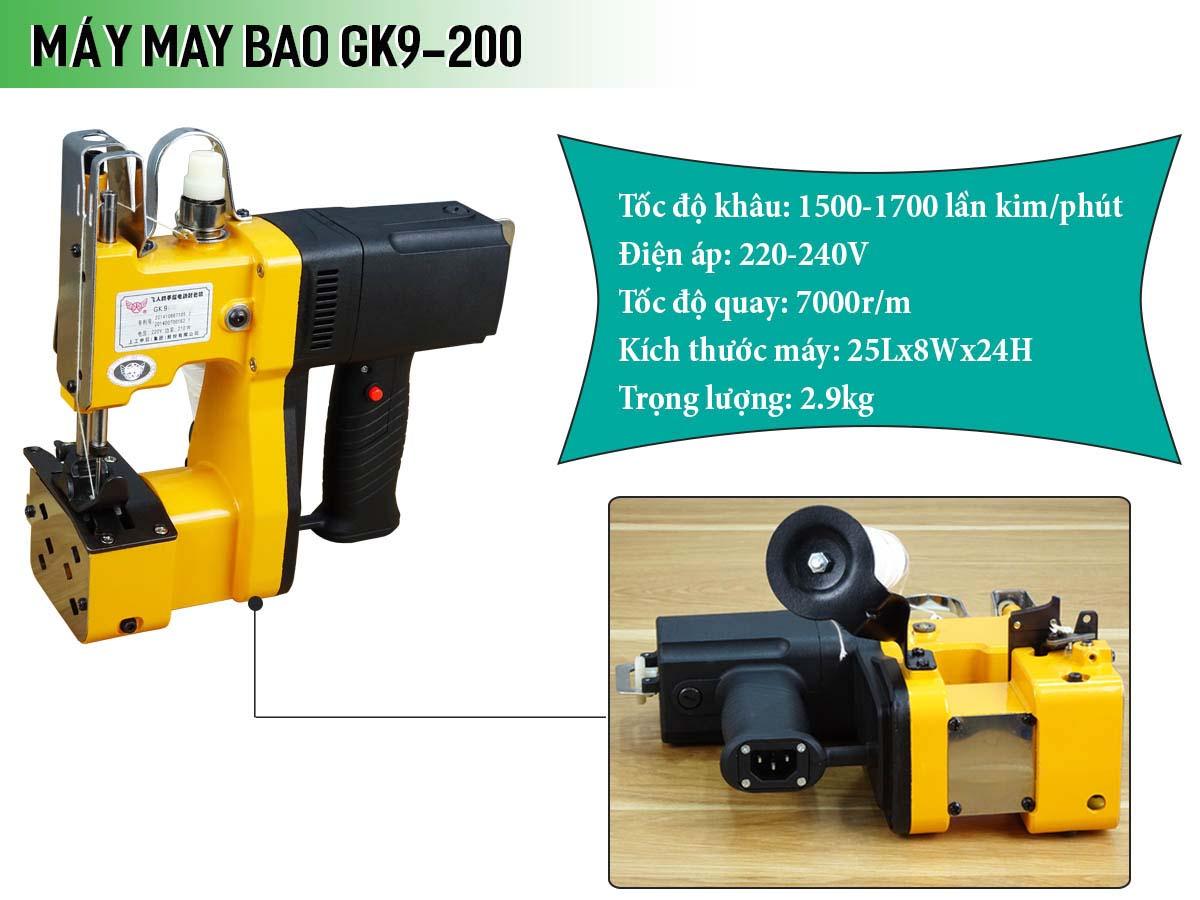 Máy may bao cần tay GK9-200