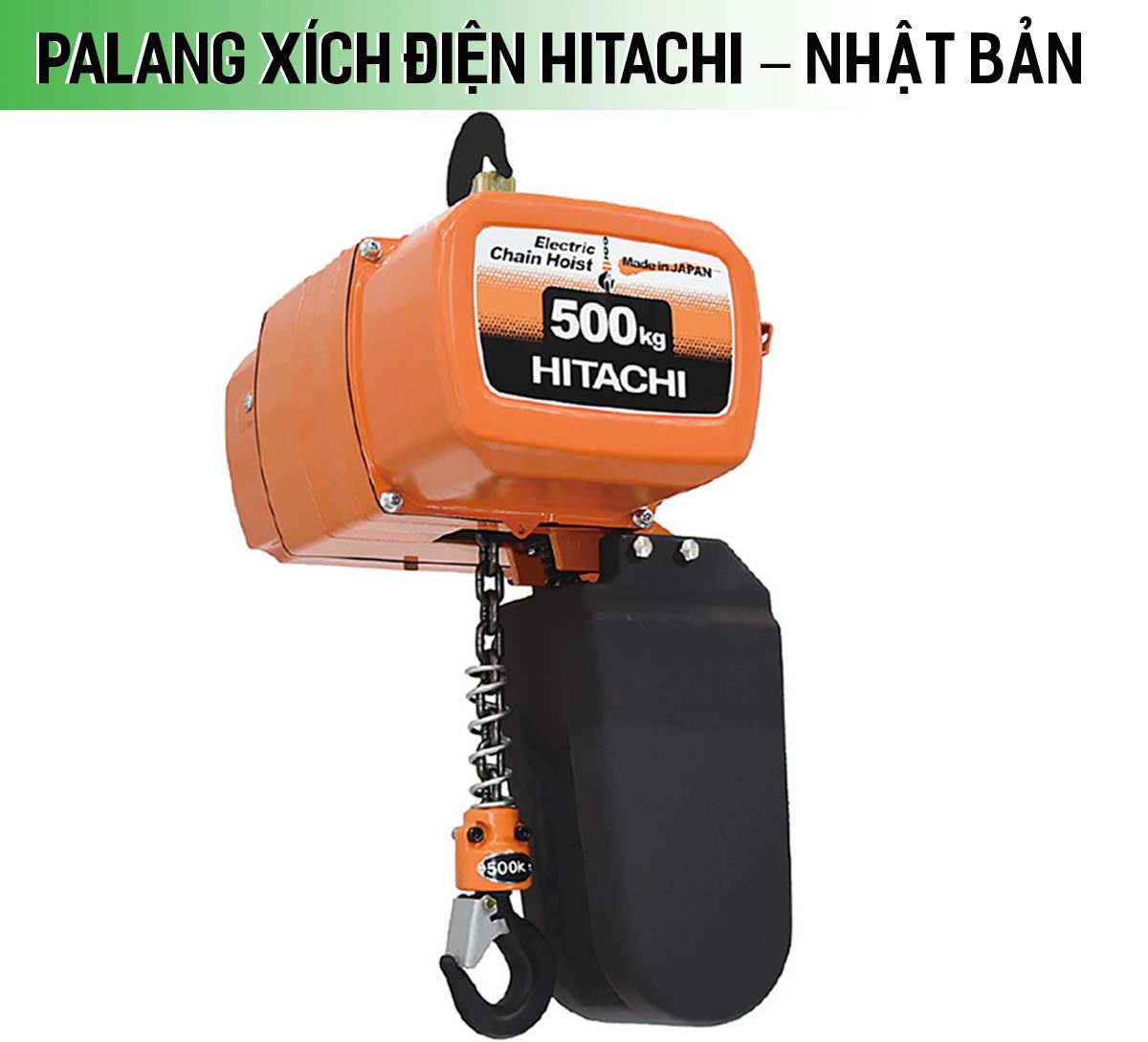 Palang xích điện Hitachi