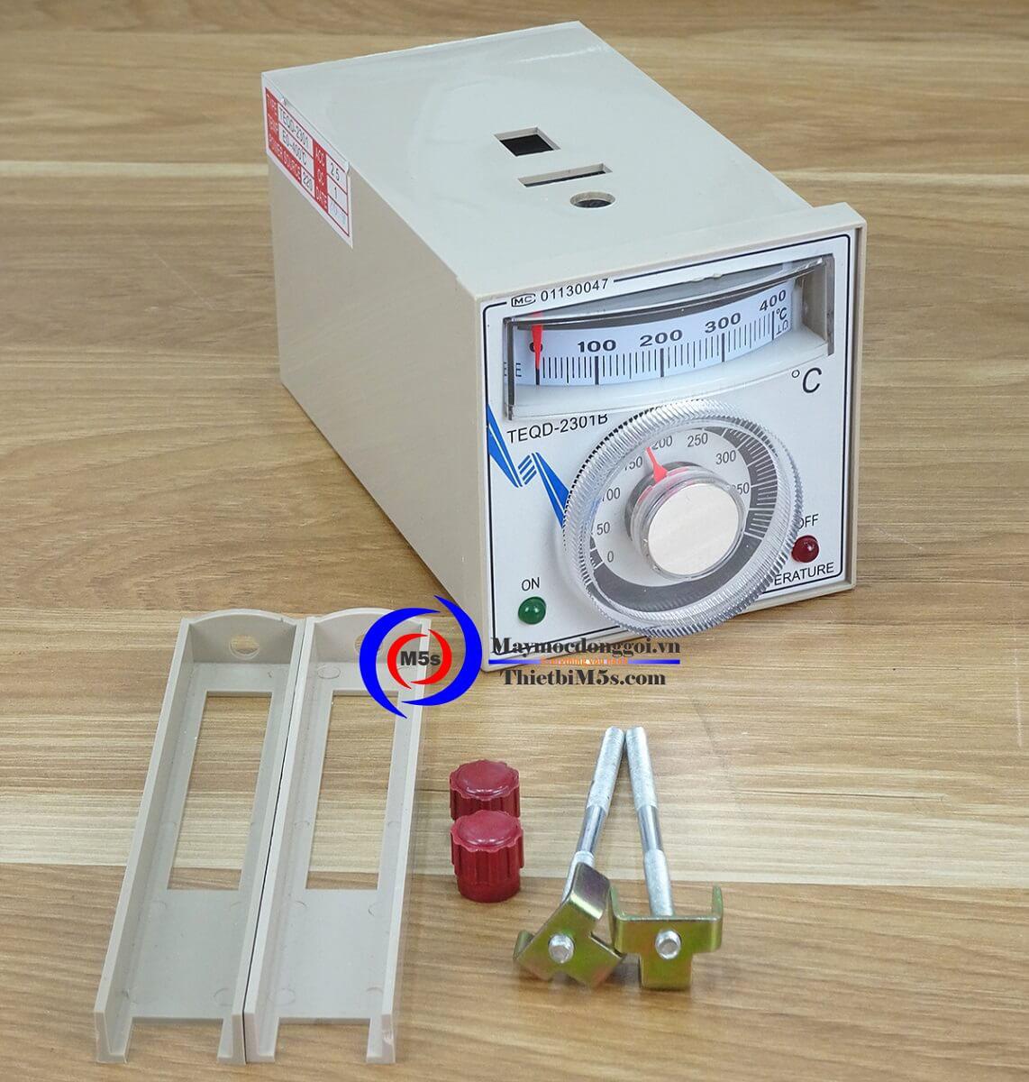 Đồng hồ gia nhiệt máy hàn miệng túi liên tục