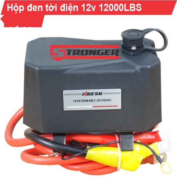 Hộp đen cho tời điện kéo xe 12V 6000Lbs, 12000Lbs