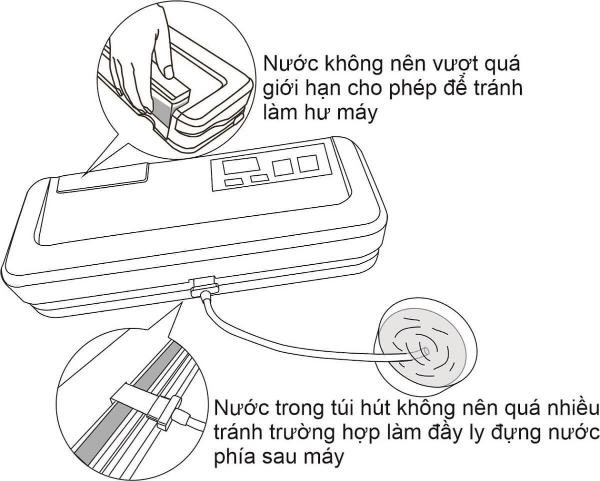 Lưu ý sử dụng máy hút chân không mini gia đình