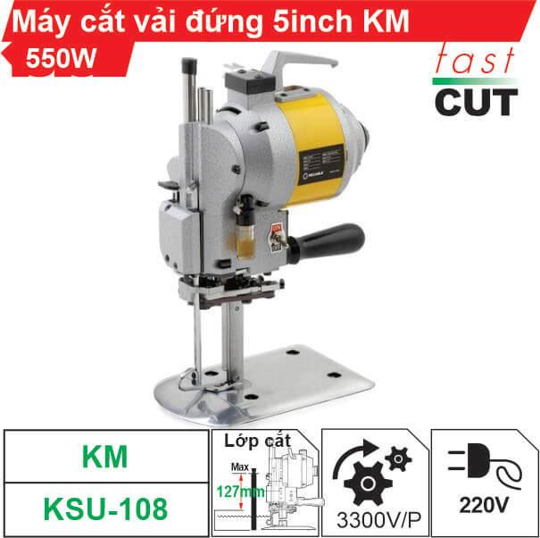 Máy cắt vải đứng 5 inch KM 550W