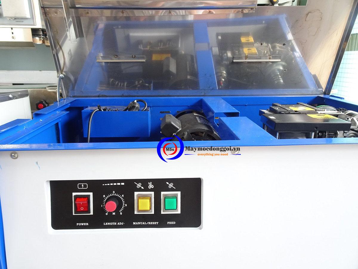 Máy đóng đai thùng bán tự động DBJ