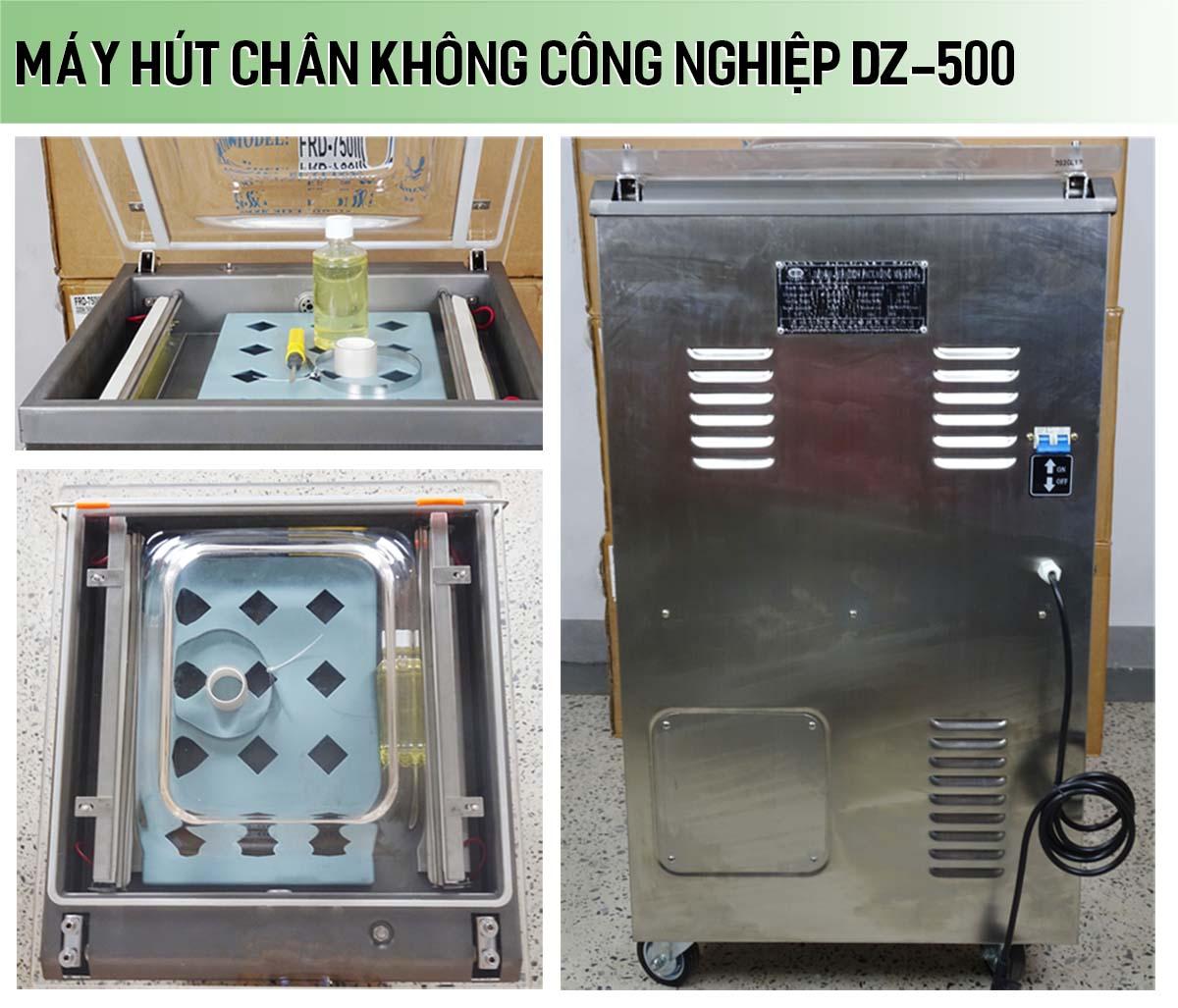 Máy hút chân không công nghệp DZ-500
