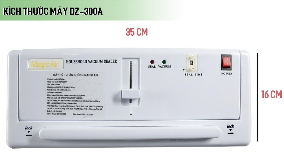 Máy hút chân không mini gia đình DZ-300A