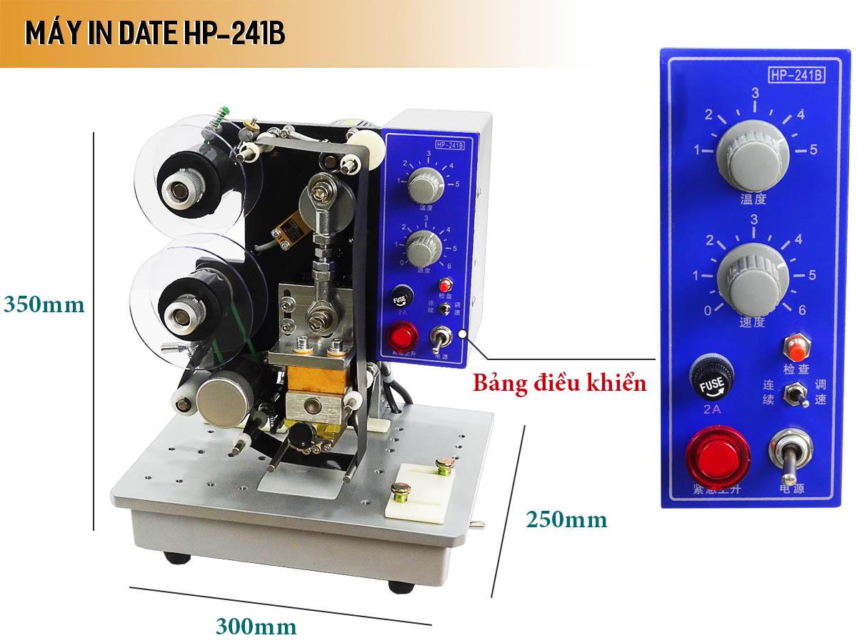 Máy in date bán tự động HP-240P