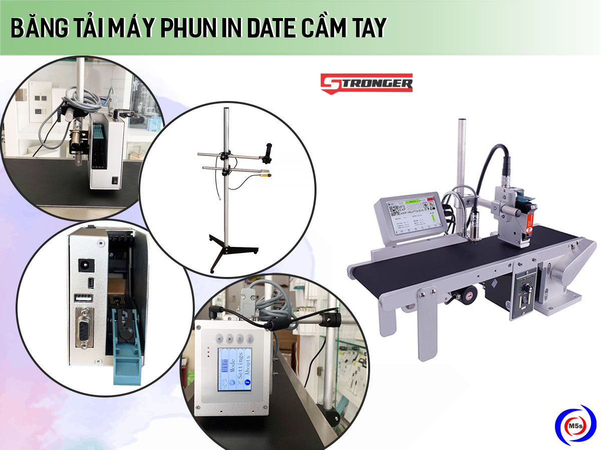 Máy phun in date băng tải Promax Conveyor System