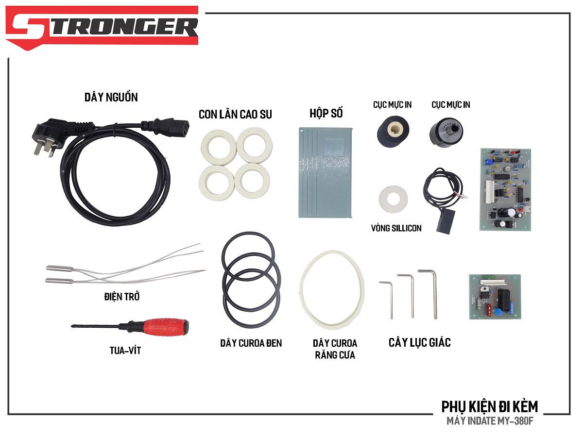 Phụ kiện máy in date tem nhãn tự động MY-380F Stronger