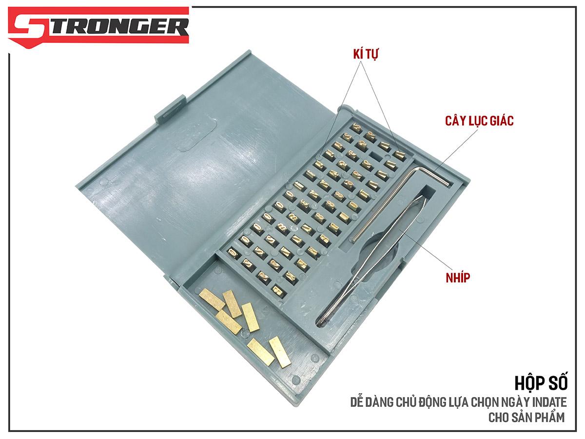 Máy in date tem nhãn tự động MY-380F Stronger