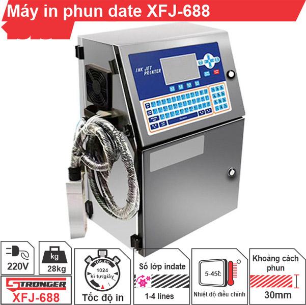 Máy in phun date XFJ-688