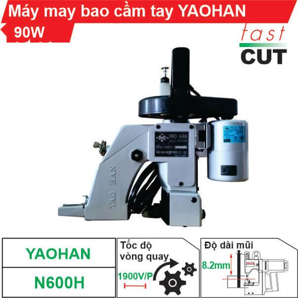 Máy may bao cầm tay Yaohan N600H