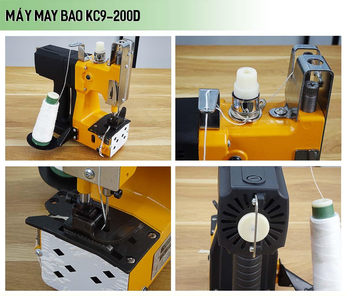 Máy may bao chạy pin cầm tay KC9-200D