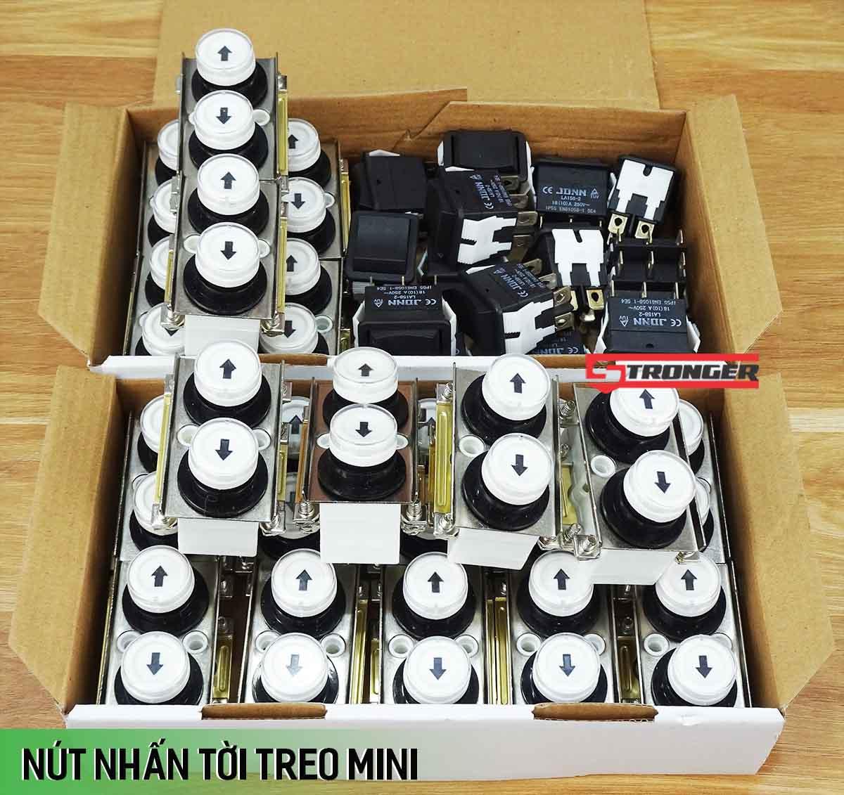 Nút nhấn tay cầm điều khiển tời treo mini
