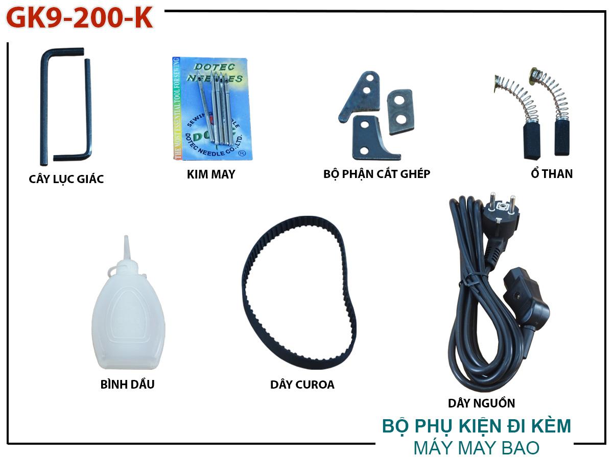 phụ kiện máy may bao GK9-200